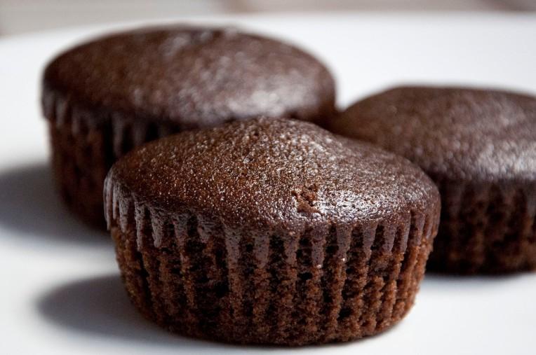 vegan choco coconut cupcakes